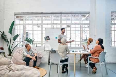 employee wellness meeting